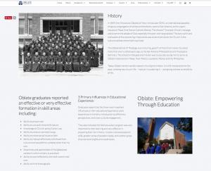 website design copywriting catholic